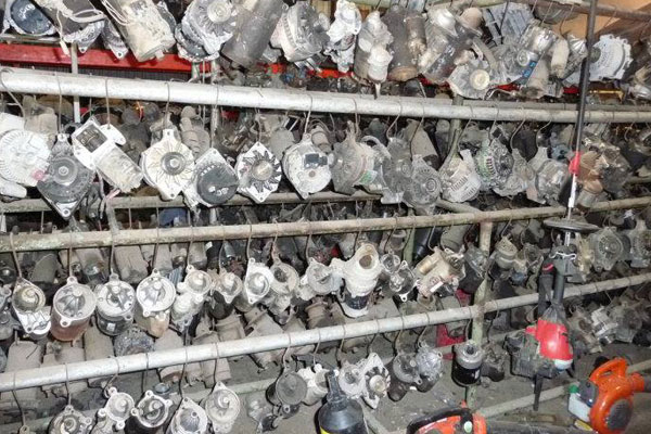 Southern Auto Salvage used auto parts warehouse - small motors