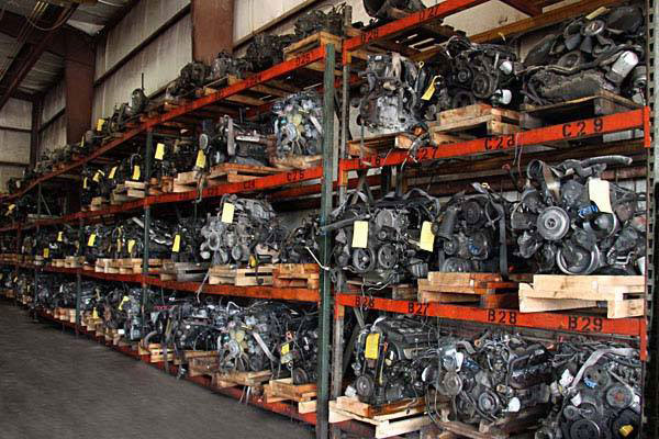 Southern Auto Salvage used auto parts warehouse - used engines